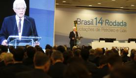 Rio de Janeiro - A Agência Nacional do Petróleo, Gás Natural e Biocombustíveis (ANP) realiza, no Windsor Barra Hotel, na Barra da Tijuca), a 14 Rodada de Licitações de Petróleo e Gás (Tânia Rêgo/Agência Brasil)