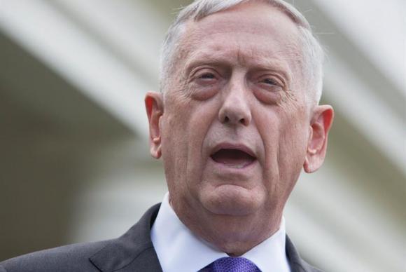 General James Mattis, secretário de Defesa dos EUA
