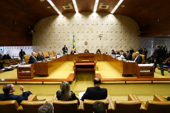Brasília - Supremo Tribunal Federal (STF) retoma o julgamento sobre a validade dos termos do acordo de delação premiada da JBS (Marcelo Camargo/Agência Brasil)
