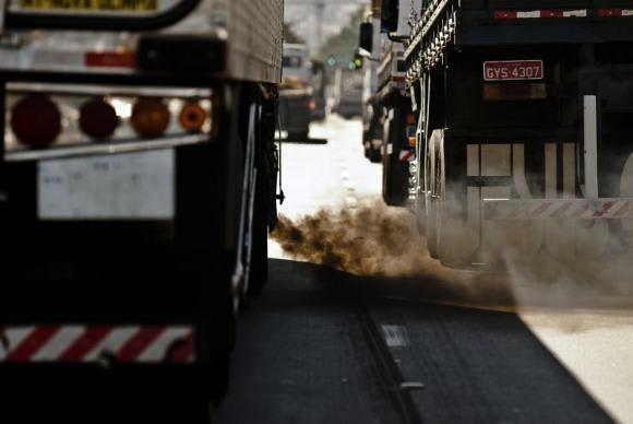 Poluição,meio ambiente, gases