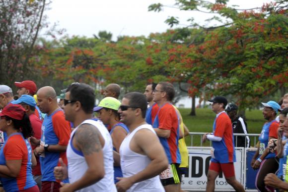 Rio de Janeiro - Corrida de São Sebastião, no Parque do Flamengo. A corrida abre o calendário oficial de eventos esportivos da cidade, no ano em que o Rio sediará os Jogos Olímpicos (Tânia Rêgo/Agência Brasil)