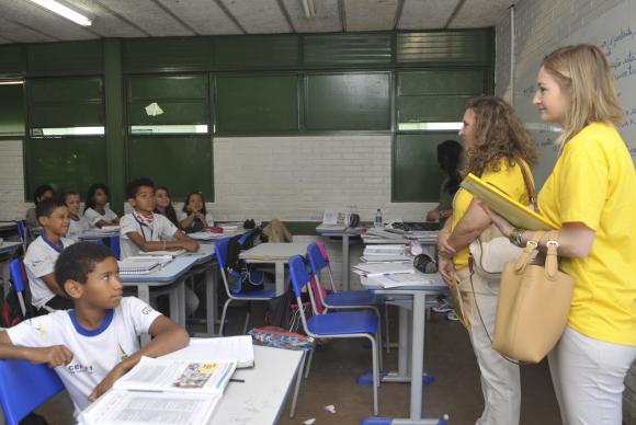 Escolas públicas de ensino básico em vários municípios brasileiros receberão a visita do Ministério Público com o objetivo de averiguar a qualidade do ensino e as condições dessas escolas (Elza Fiúza/Agência Brasil)