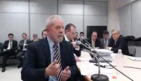 Ex-presidente Luiz Inácio Lula da Silva presta depoimento ao juiz federal Sérgio Moro, em Curitiba