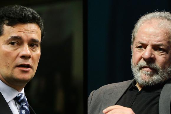 Sérgio Moro e Lula (Arquivo/Agência Brasil)