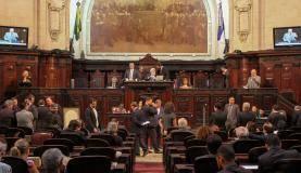 Assembleia Legislativa do Rio de Janeiro decide pela libertação do presidente da Casa, Jorge Picciani; do líder do governo, Edson Albertassi; e de Paulo Melo, ex-presidente da Alerj (Divulgação/Alerj)