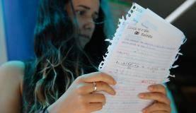Rio de Janeiro - Segundo dia de aplicação das provas do Exame Nacional do Ensino Médio (Enem) 2017, na Universidade Estácio de Sá, no centro da cidade (Fernando Frazão/Agência Brasil)