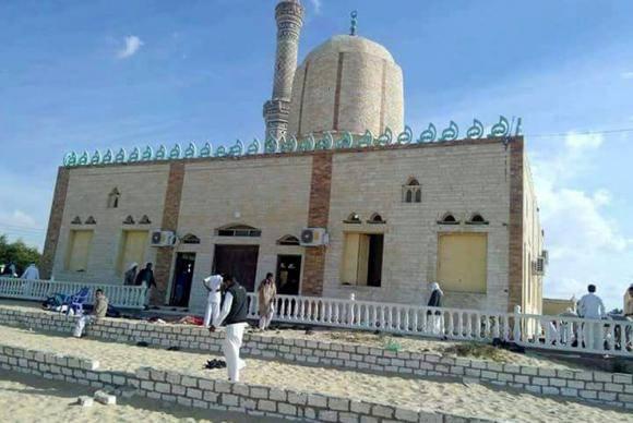 Mesquita no Sinai sofre ataque terrorista - Foto Agência Lusa