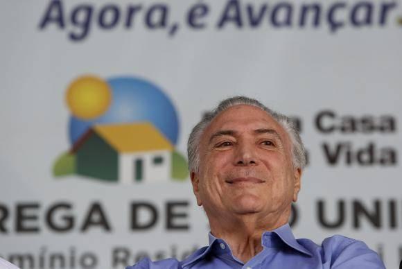 Limeira (SP) - Presidente da República, Michel Temer, durante cerimônia de Entrega de 900 UH do Condomínio Residencial Rubi III A V do Programa Minha Casa Minha Vida (Alan Santos/PR)