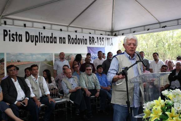 São Luís - Ministro da Secretaria-Geral da Presidência da República, Moreira Franco, participa de inauguração da duplicação da BR-135 no Maranhão (Beth Santos/Secretaria-Geral da PR)