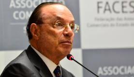 São Paulo - O deputado federal Paulo Maluf participa de evento na Associação Comercial de São Paulo sobre perspectivas e investimentos para 2016 (Rovena Rosa/Agência Brasil)