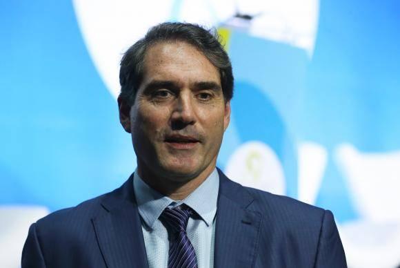 Brasília - O presidente da Coca-Cola Brasil, Henrique Braun, participa de debate sobre o compromisso brasileiro empresarial com a segurança hídrica, durante o 8 Fórum Mundial da Água (Valter Campanato/Agência Brasil)