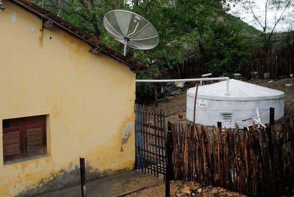 Cisterna para captação e armazenamento de água da chuva (Fernando Frazão/Arquivo Agência Brasil)