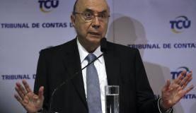 Brasília - O ministro da Fazenda, Henrique Meirelles durante o Seminário Privatização da Eletrobras (Antonio Cruz/Agência Brasil)
