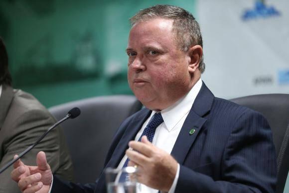 Brasília - O ministro da Agricultura, Pecuária e Abastecimento, Blairo Maggi, apresenta o plano de macrologística para a agropecuária que identifica as melhores rotas e modais de transporte para escoar a produção