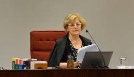 Sessão no STF da Primeira Turma presidida pelo ministra Rosa Weber para análise de ação penal contra o deputado Paulinho da Força (José Cruz/Agência Brasil)