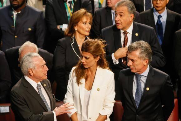 Valparaíso / Chile - Presidente da República, Michel Temer, Senhora, Juliana Awada, Presidente da Argentina, Mauricio Macri (Beto Barata/PR)