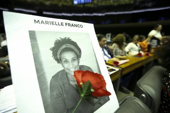 Brasília - A Câmara dos Deputados realiza sessão solene para celebrar Dia Internacional do Direito à Verdade e prestar homenagem a vereadora Marielle Franco e ao motorista Anderson Gomes. (Marcelo Camargo/Agência Brasil)