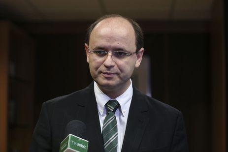 Brasília - O ministro da Educação Rossieli Soares participa de reunião para tratar da Conferência Infantojuvenil e Copa Verde.