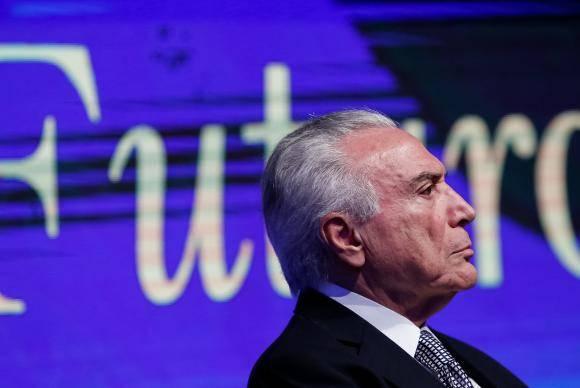 São Paulo - O presidente da República, Michel Temer, participa do Fórum Econômico Brasil e Países Árabes (Alan Santos/PR)
