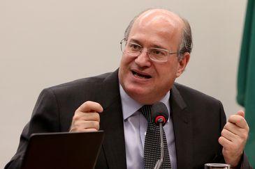 Brasília - O presidente do Banco Central (BC), Ilan Goldfajn, em audiência pública na Comissão Mista de Orçamento (Wilson Dias/Agência Brasil)