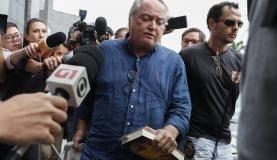 São Paulo O ex-ministro Wagner Rossi chega à sede da Polícia Federal em São Paulo (EFE/Sebastião Moreira/direitos reservados)