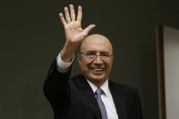 Brasília - Henrique Meirelles anuncia em coletiva que deixa o Ministério da Fazenda para disputar as eleições de outubro (Fabio Rodrigues Pozzebom/Agência Brasil)