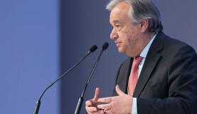 António Guterres, secretário-geral da ONU