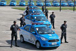Polícia Militar do Rio de Janeiro recebe 265 novas viaturas
