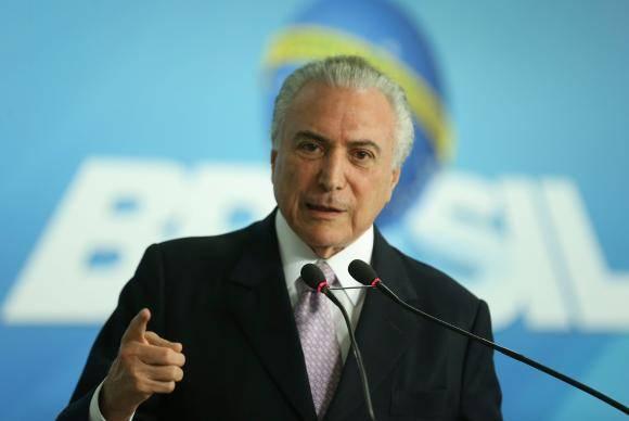 Desenvolvimento, Liberdade e Patriotismo, no Palácio do Planalto (Valter Campanato/Agência Brasil)