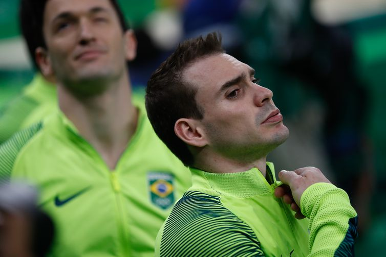 Rio de Janeiro - Arthur Zanetti termina em 6º pelo Brasil na ginástica artística por equipes no masculino nos Jogos Olímpicos Rio 2016 (Fernando Frazão/Agência Brasil)