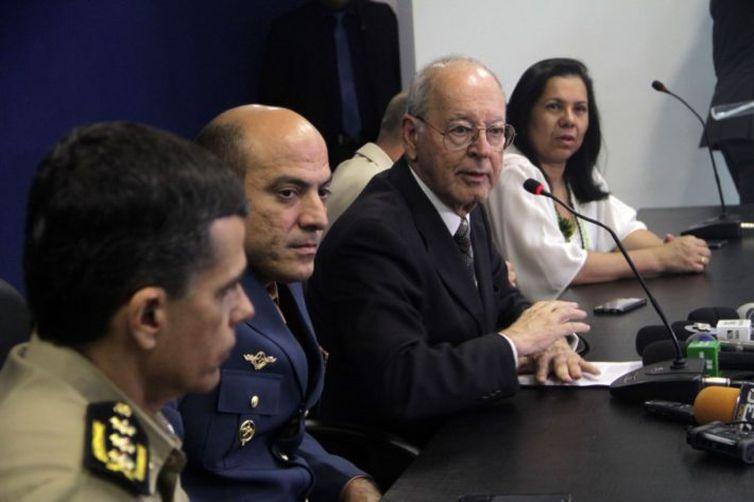 O secretário de Segurança Pública de Goiás, Irapuan Costa Júnior, disse que o governo criou uma força-tarefa para investigar ações criminosas em Ipameri