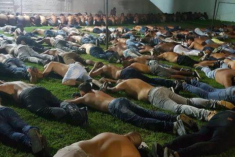 Milicianos presos no Rio (Polícia Civil/Divulgação)