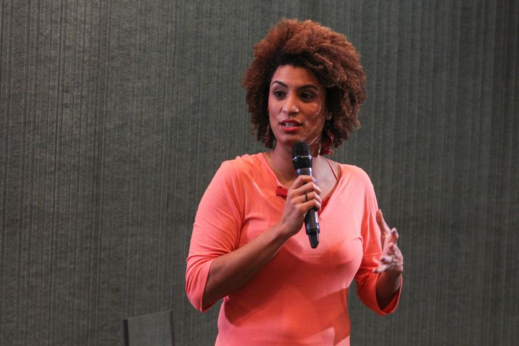 Marielle Franco, vereadora do PSOL na Câmara do Rio de Janeiro que foi assassinada