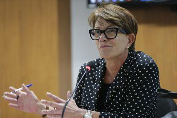 Brasília - A procuradora federal dos Direitos do Cidadão, Deborah Duprat, participa do seminário Desafios e Perspectivas sobre Temas Atuais dos Direitos Indígenas no Brasil (Fabio Rodrigues Pozzebom/Agência Brasil)