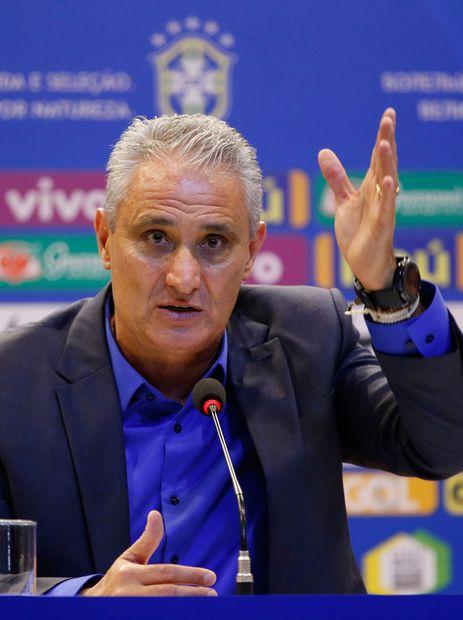 O técnico da seleção brasileira Tite, anuncia os jogadores convocados para disputar a Copa do Mundo da Rússia 2018.