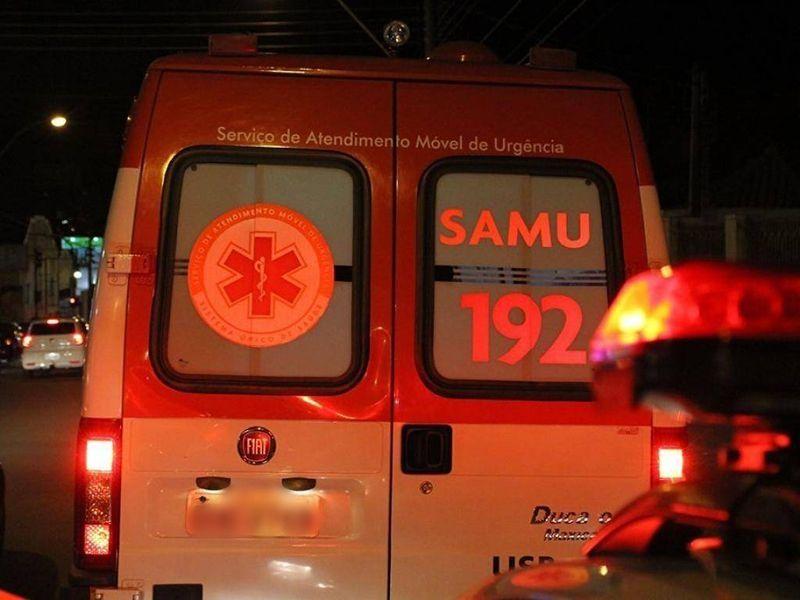 Adolescente cai em córrego e é resgatado pelo SAMU em Divinópolis