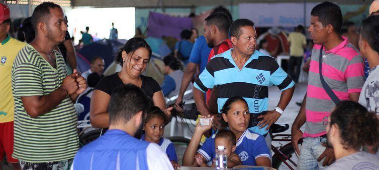 Refugiados venezuelanos no Brasil