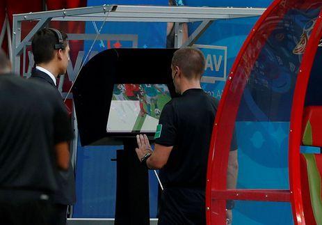 Árbitro de vídeo, copa 2018 REUTERS/John Sibley/File Photo