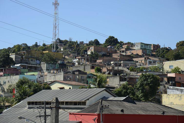 Cidade de Queimados, na região metropolitana do Rio de Janeiro.