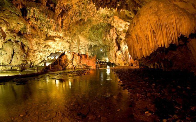 Caverna em Eldorado, São Paulo (Prefeitura de Eldorado/Direitos reservados)