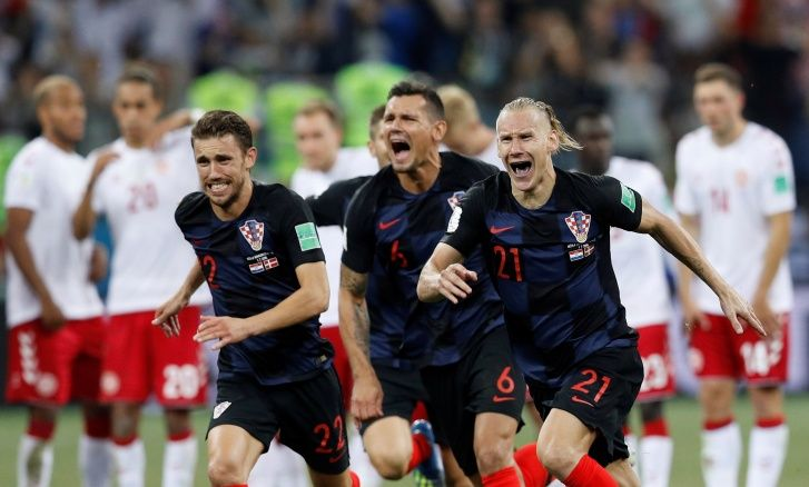 Croácia vence a Dinamarca nas oitavas de final da Copa do Mundo 2018