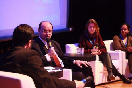 Ministro da Educação no Congresso Internacional de Jornalismo de Educação