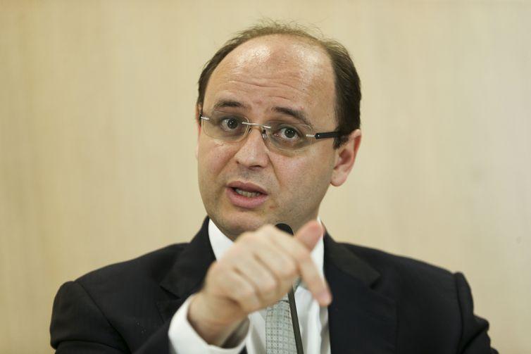 O ministro da Educação, Rossieli Soares, divulga os resultados do Sistema de Avaliação da Educação Básica (Saeb) de 2017.