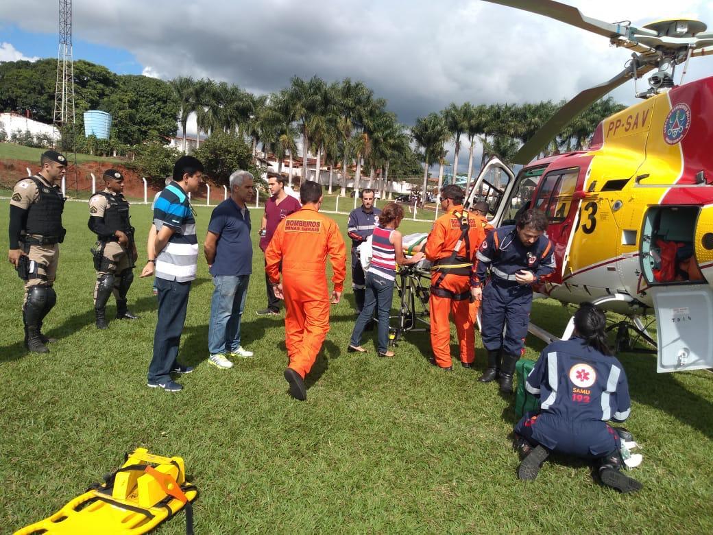 Resgate de menina helicoptero Monte Carmelo (1)