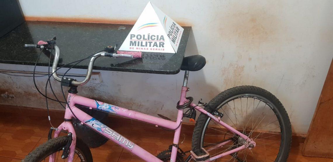 Roubo Loja de Roupas Bicicleta Apreendida - Monte Carmelo