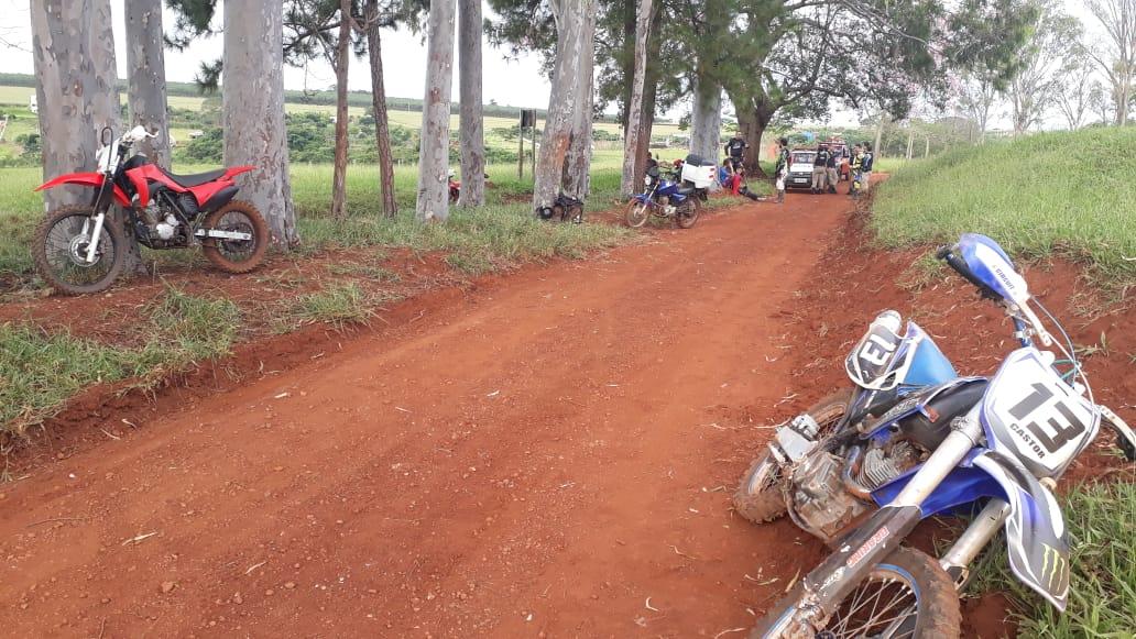 Motociclista morre na zona rural de Uberlândia
