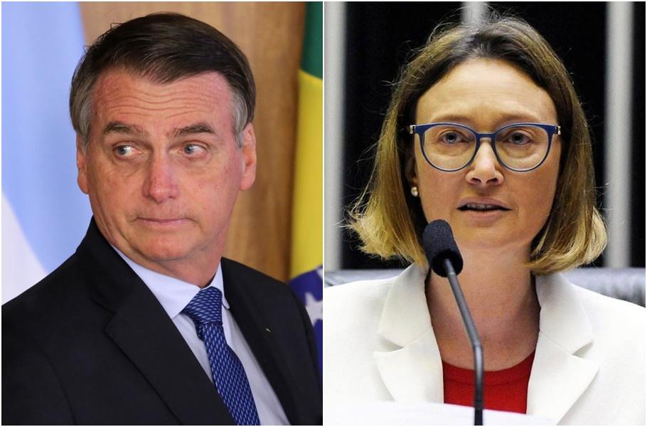 Bolsonaro e Maria do Rosário