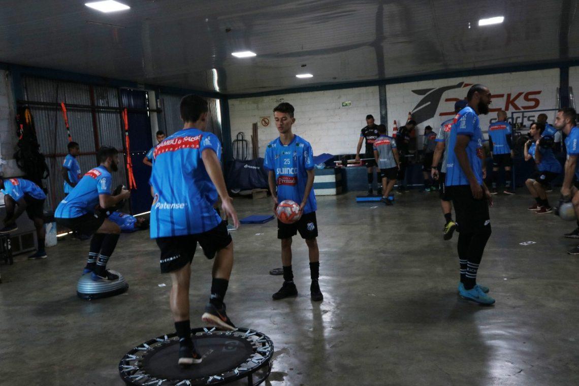 Time URT em preparação para próximo confronto contra Ituano (2)