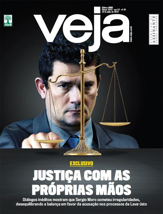 Moro cometeu irregularidades enquanto atuava como juiz, afirma Veja