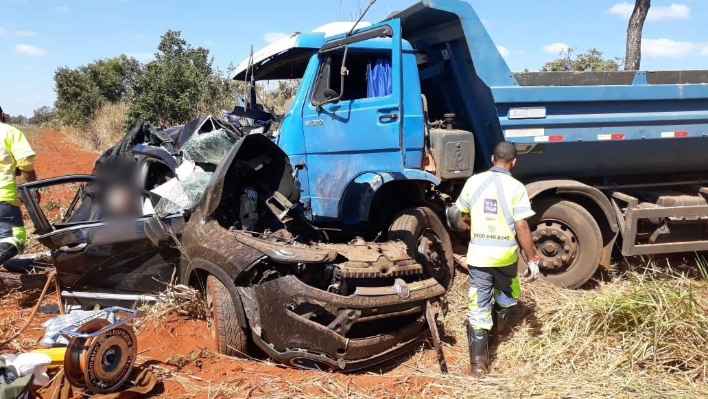 BR 040 Quatro pessoas morrem em acidente em Paracatu